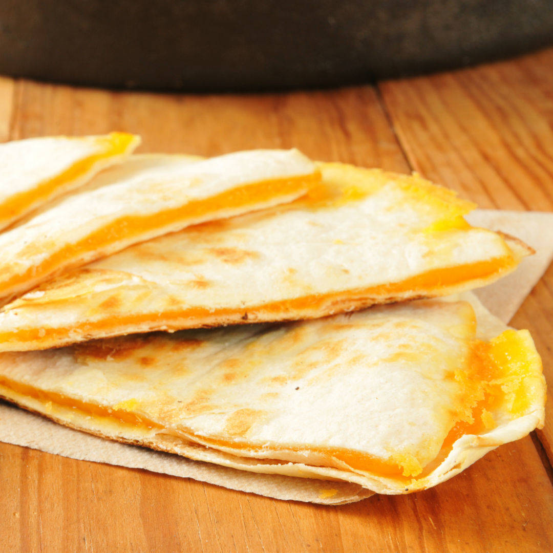 Cheese and Apple Quesadillas – Baby Led Weaning