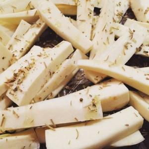 healthy parsnip fries