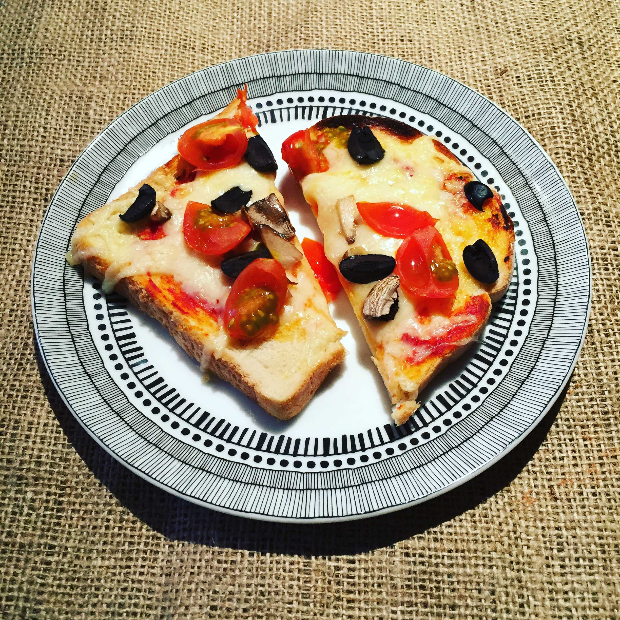 Pizza Toast – Baby Led Weaning
