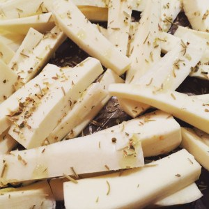 healthy parsnip fries